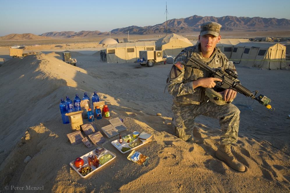 soldier's diet