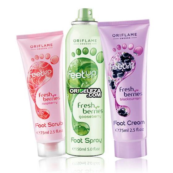 Fresh Berries Feet Up da Oriflame