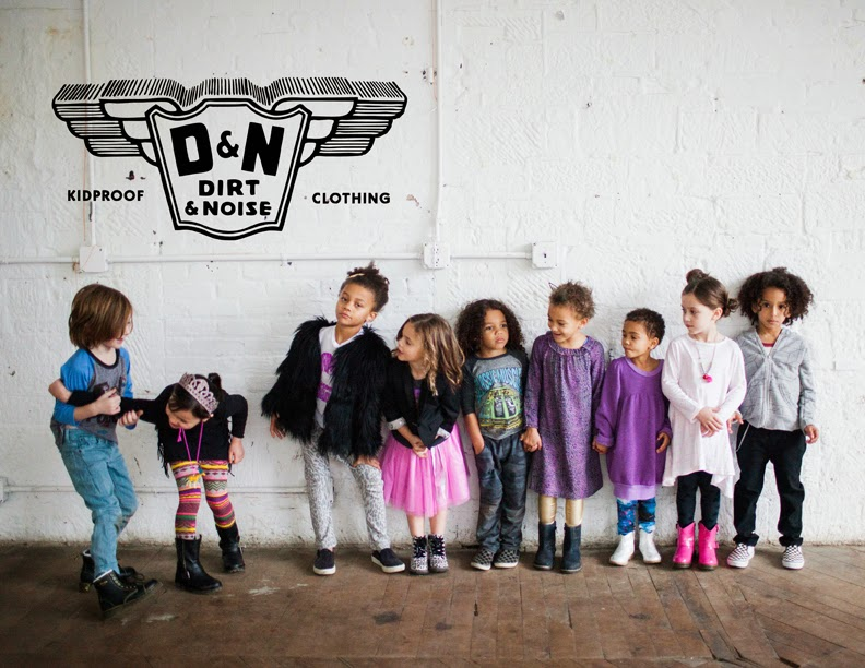 Dirt & Noise kidswear shop holiday look book 2014