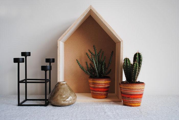 Dutch design on a budget houten huisje van de karwei klusdag - Interieur houten huisje ...