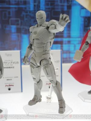 Max Factory Figma Avengers Iron Man Mk VII figure