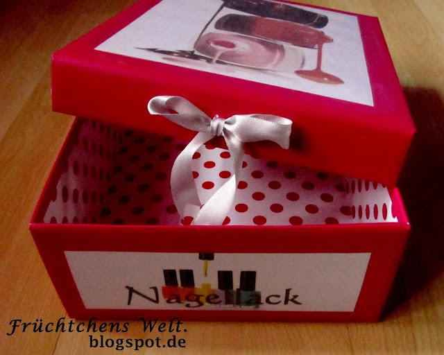 DIY Aufbewahrungs-Box (dm Lieblinge Box)