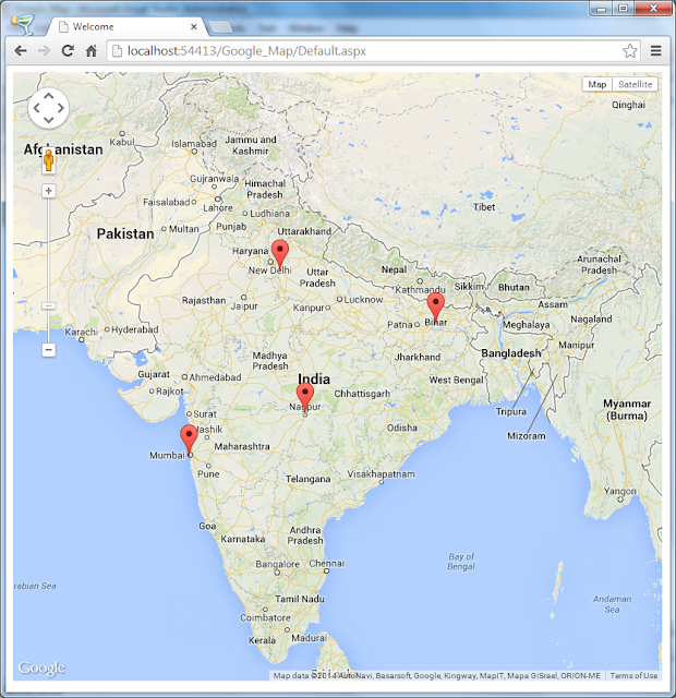 how to create multiple markers google maps