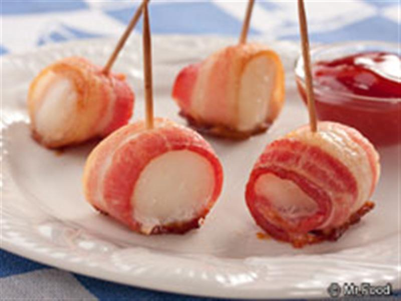 how to make bacon wrapped scallops