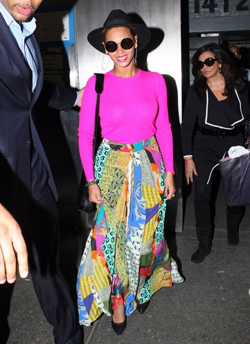 Beyonce Knowles Fashion Style