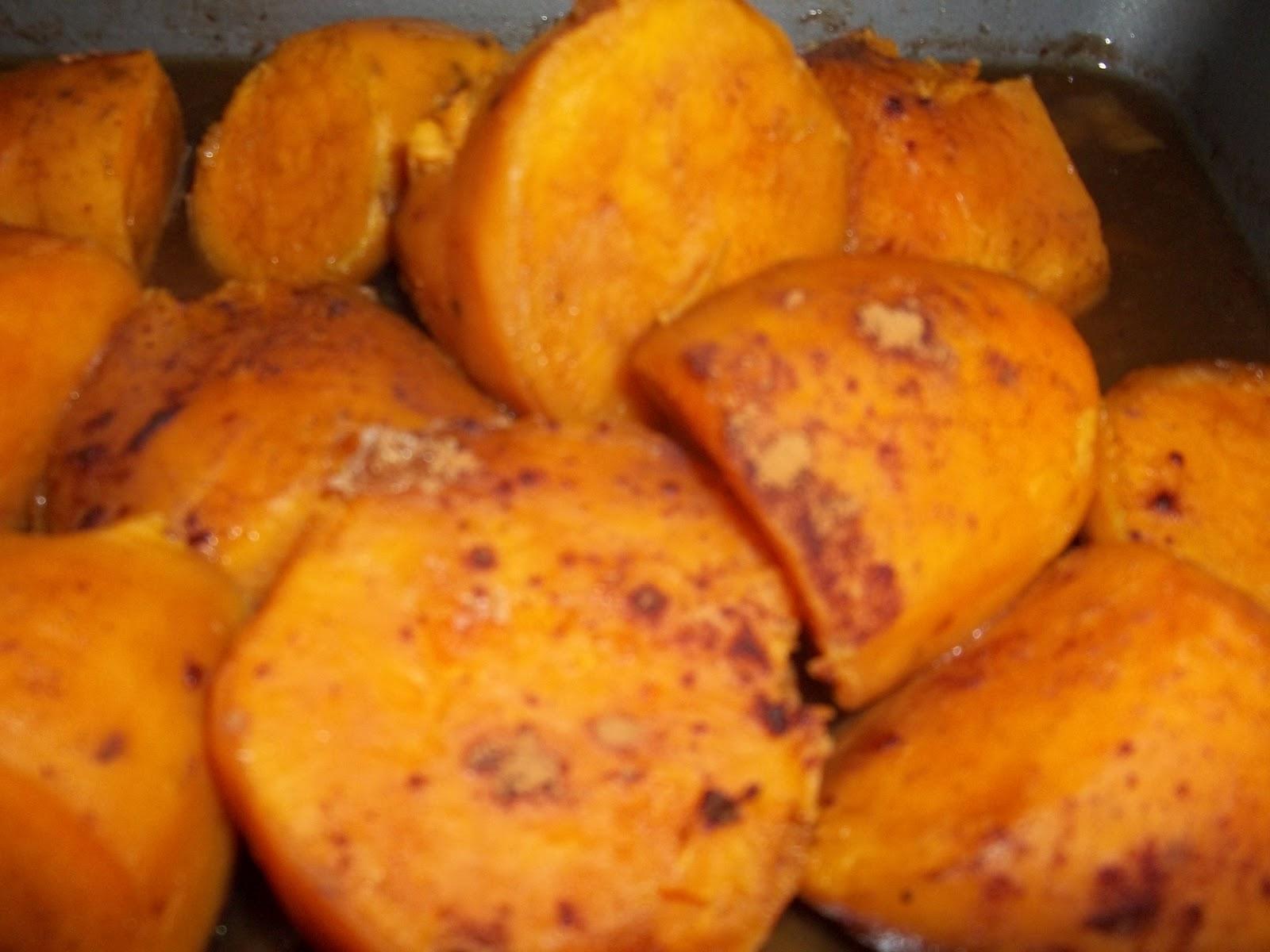 ... Recipes: Sensational Sides: Roasted Brown Sugar Glazed Sweet Potato