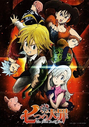 Nanatsu no Taizai - 1ª Temporada Desenhos Torrent Download capa