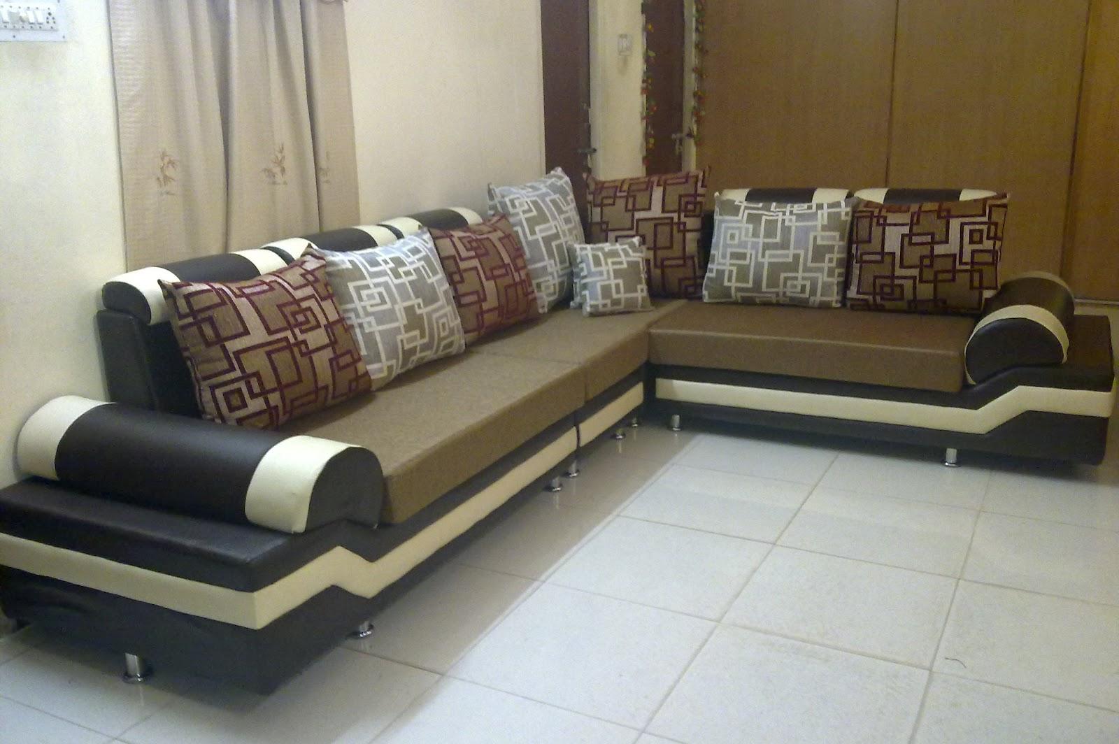 furniture in hyderabad secunderabad dark golden sofa l shape new