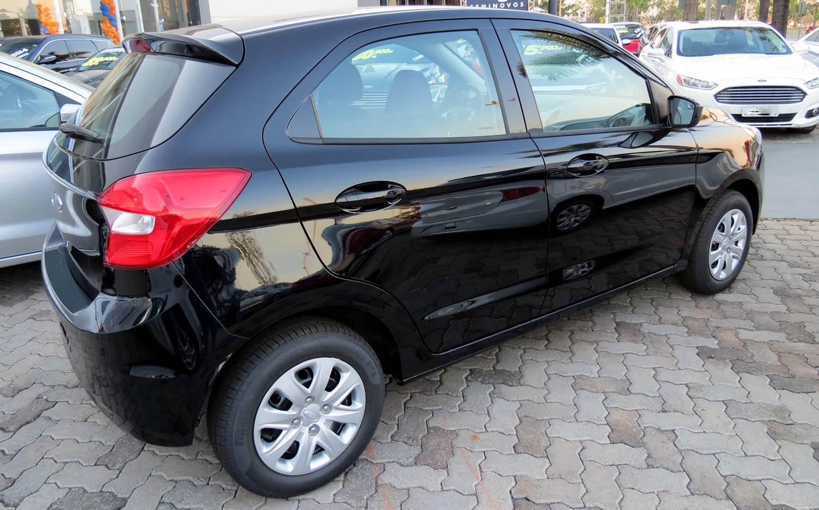 Somente no dia 12/09 o novo carro compacto da Ford teve 1.065 unidades