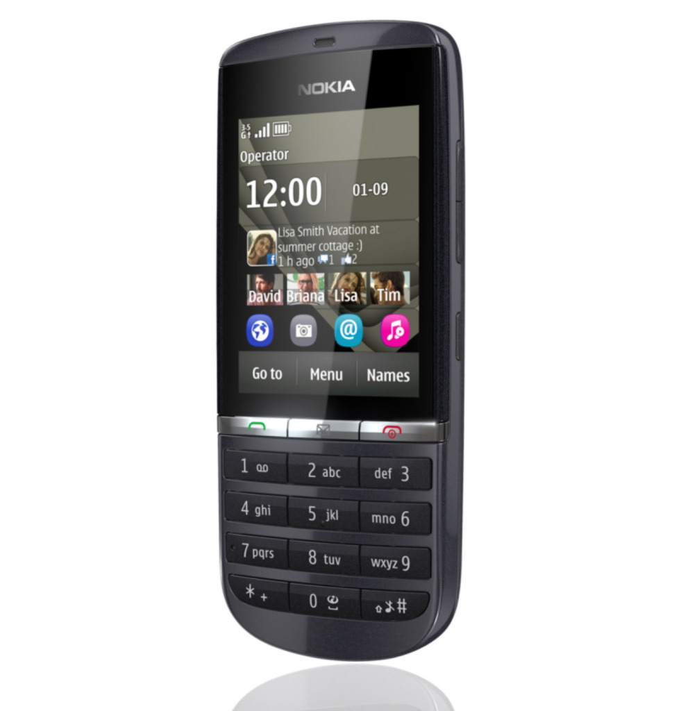 The Best Mobiles The Best Price Nokia Asha 300 Graphite