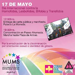17 de mayo: Día Internacional contra la Homofobia, Lesbofobia, Bifobia y Transfobia