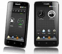 harga Philips W732 info, spesifikasi Philips W732, ponsel androod baterai tahan lama, gambar dan detai specs Philips W732
