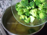 Budinca de broccoli cu cartofi fierbere legume
