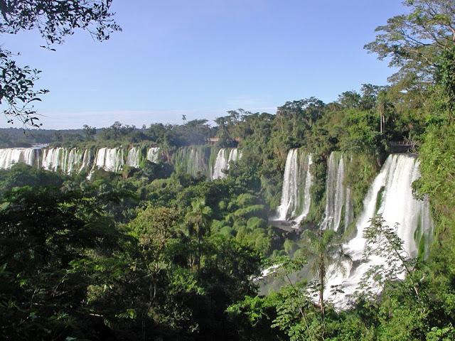 Водопад и водопад виктория вместе