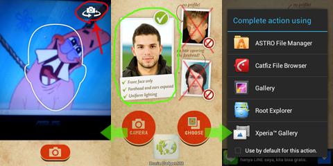 Aplikasi edit wajah menjadi jelek di Android