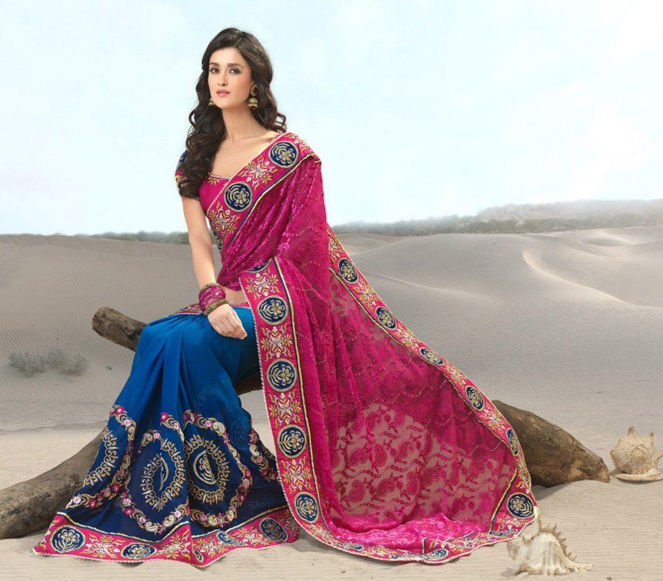 Latest indian sarees designs collection
