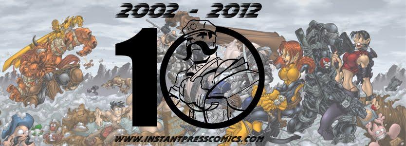 Instant Press Comics