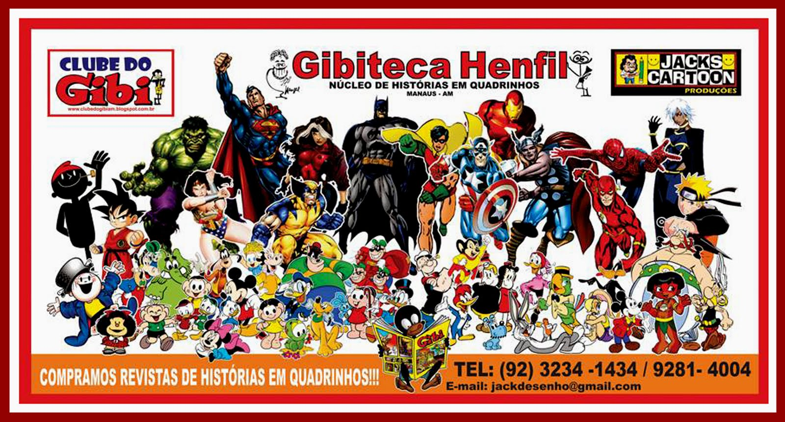 GIBITECA HENFIL - Manaus Amazonas