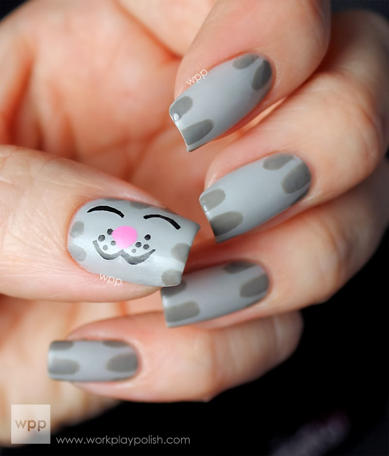 Kerry\'s Habitat: The Best Geeky and Cute Nail Art