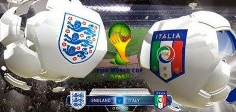 مشاهدة مباراة إنجلترا وإيطاليا اليوم السبت بث مباشر في كأس العالم 2014