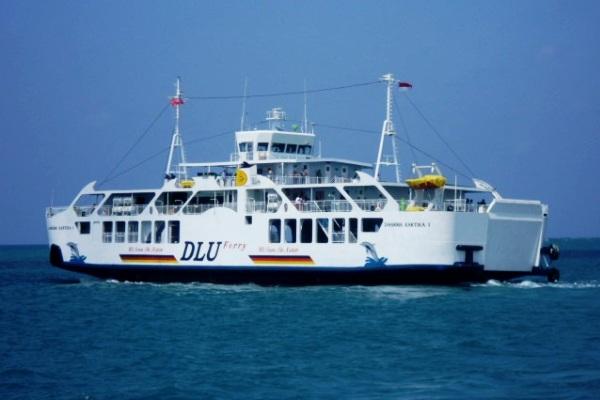Kapal Laut KM Dharma Kartika I milik PT Dharma Lautan Utama. MARITIME LINE