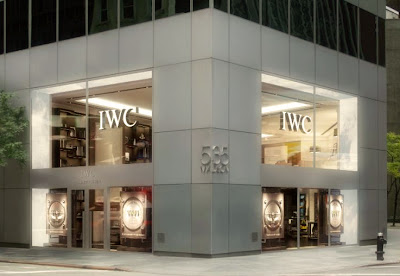 IWC's New Manhattan Flagship Boutique