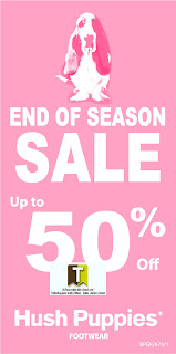Hush Puppies End-of-Season Sale 2012