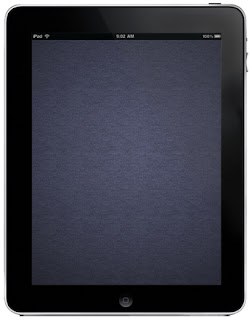 iCloud Background iPad and iPad 2 Wallpapers