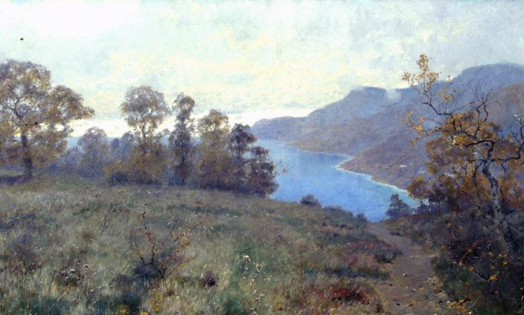 И. И. Ендогуров. Крымский вид. Осень