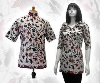 baju batik terbaru wanita