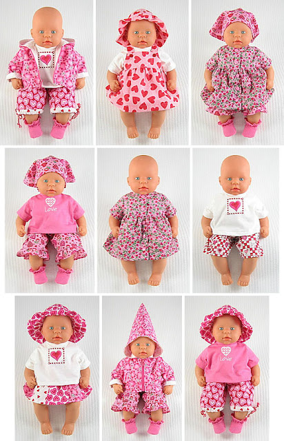 Easy pattern of dolls for beginners