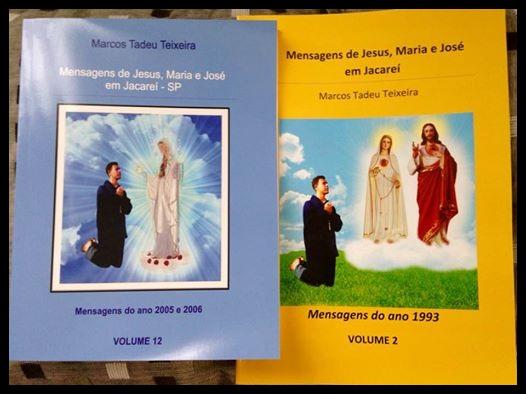 Novos Livros das Aparições de Jacareí!