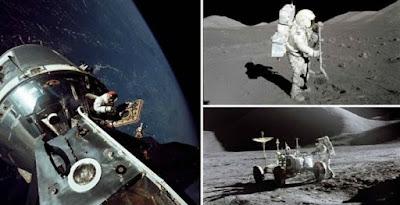 Για πρώτη φορά στο φως της δημοσιότητας έντεκα φωτογραφίες αποστολών της NASA στη Σελήνη