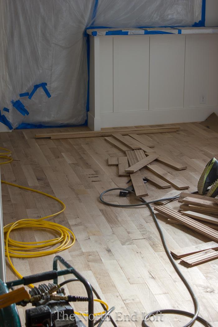 How To Install New Hardwood Floors Part - 46: New Hardwood Floors - Installation