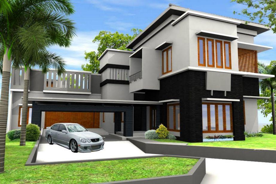 gambar rumah modern menarik