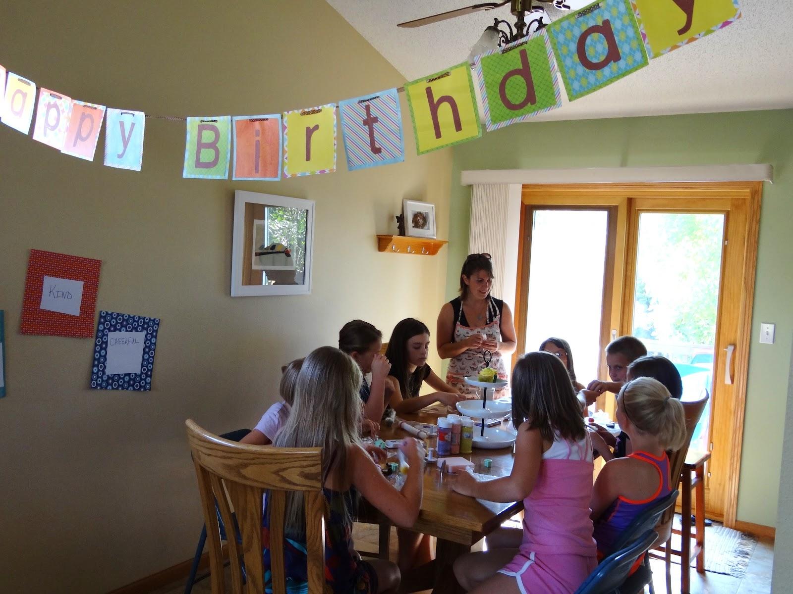 Libbys Cupcakes Etc: Cupcake Decorating Birthday Party