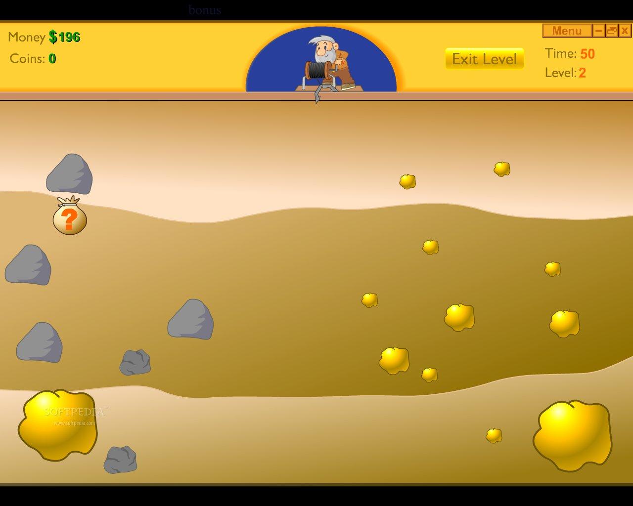 Играть бесплатно в игру Gold Miner