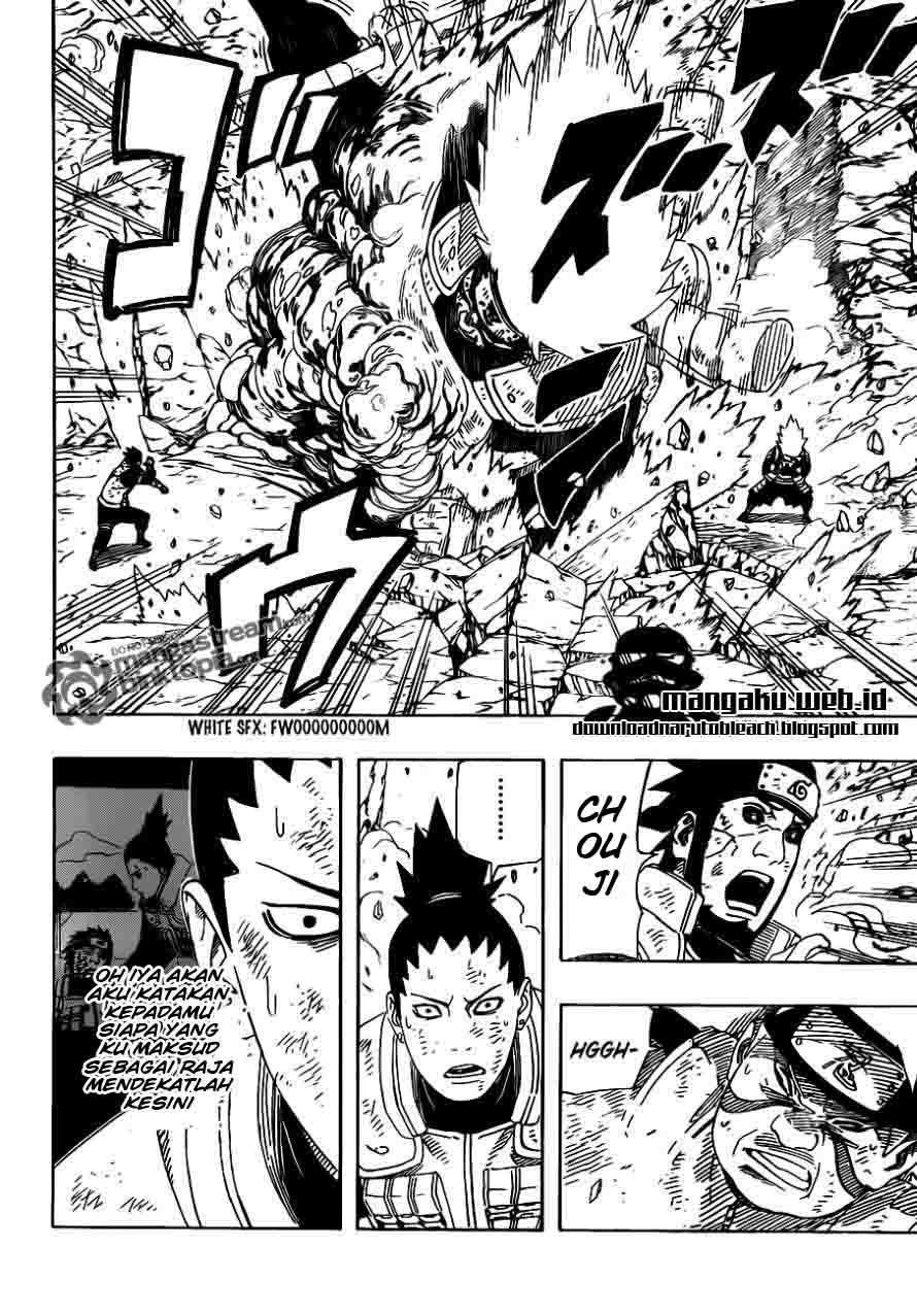 Naruto 533 page 10
