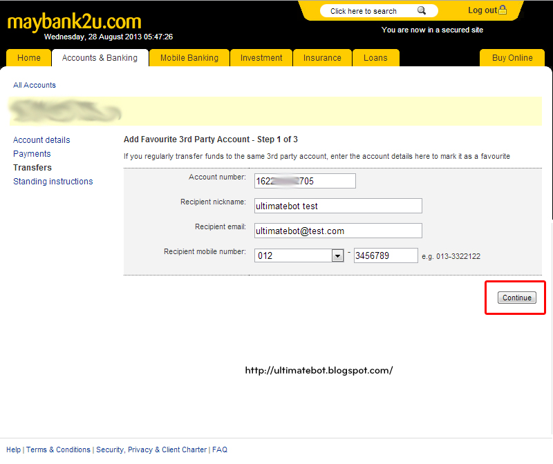 maybank2u how to add own account
