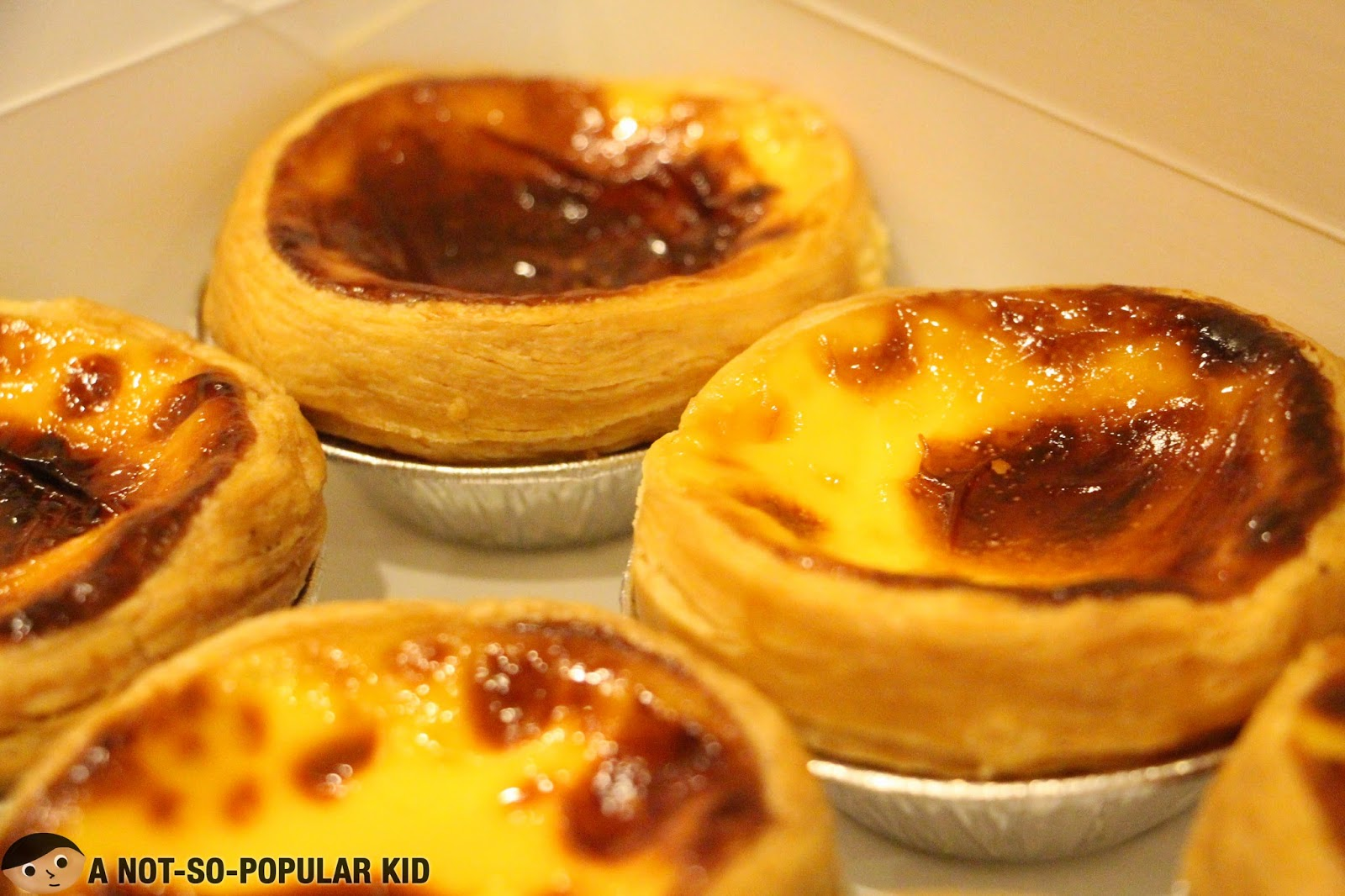 Popular Egg Tarts of Lord Stow's Bakery