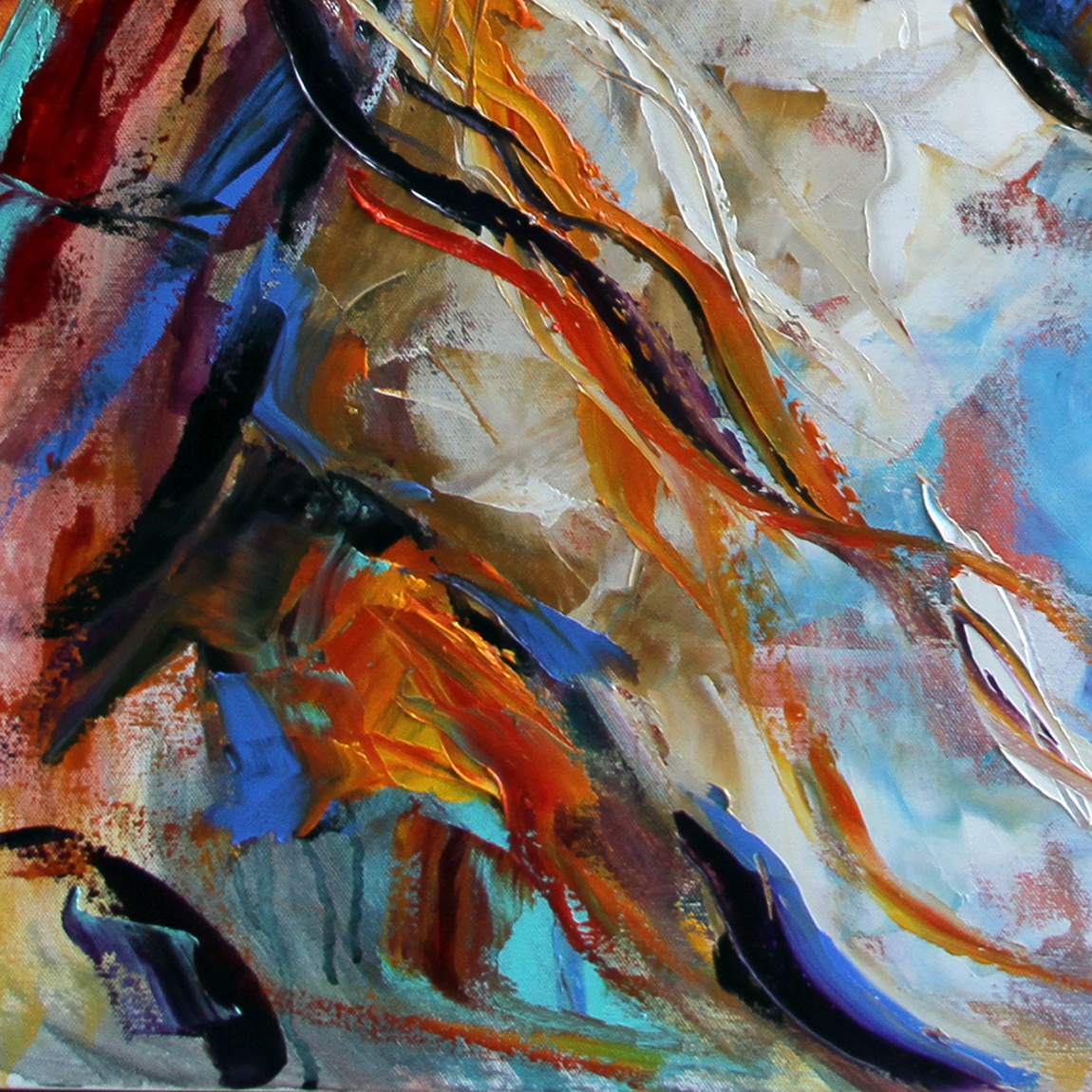indian abstract oil paintings - photo #20