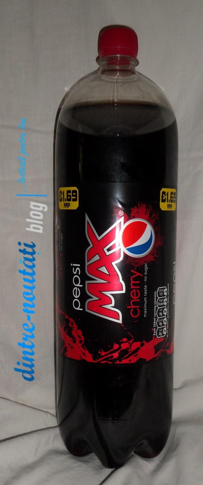 pepsi MAX cherry romania