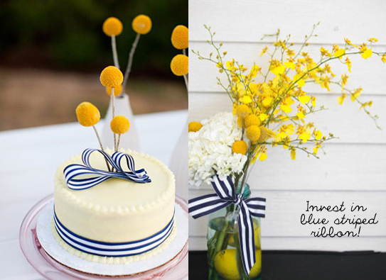 new zealand design blog, design blog, wedding blog, wedding ideas, navy and yellow wedding, stripe wedding, stripey wedding, preppy wedding
