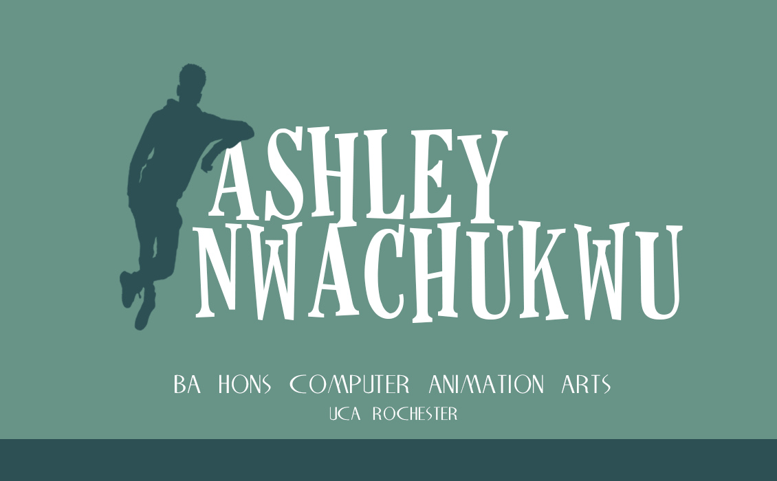 Ashley Nwachukwu - BA Hons CG Arts & Animation - Rochester