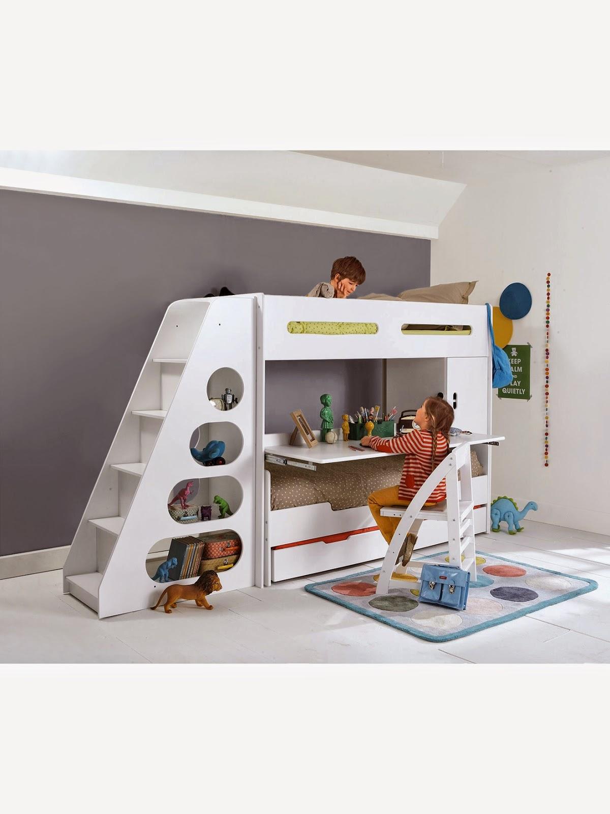 beautiful lit mi hauteur bureau ideas. Black Bedroom Furniture Sets. Home Design Ideas