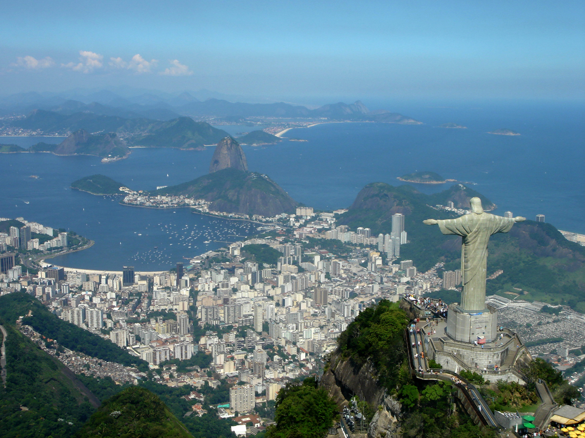 World Visits: Corcovado Mountain The Statue Of The Jesu ...