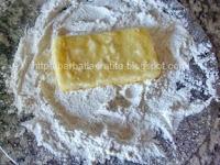 Cascaval pane preparare reteta