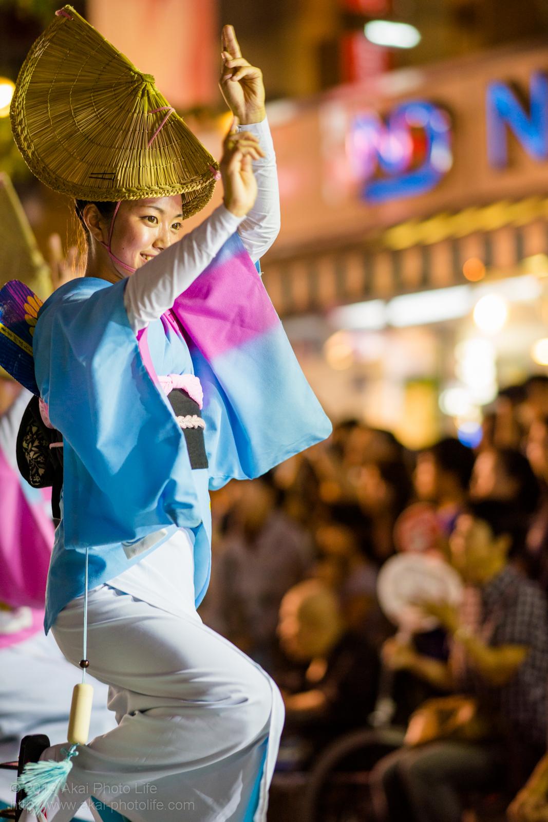 三鷹阿波踊り、菊水会菊水連の女踊り