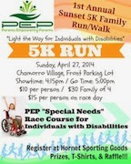 5K for Disabilities - Please help