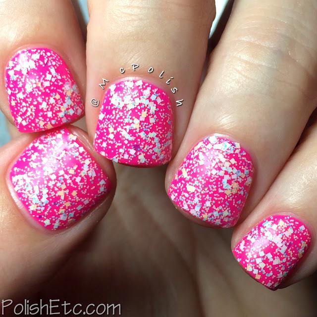 Digital Nails - Definitely Not Cute - McPolish - Glitter in my Pockets